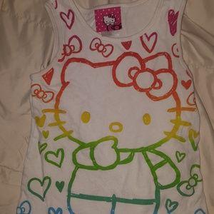 Hello Kitty tank